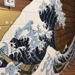 【旅館壁画☆葛飾北斎】@東京都墨田区『和み家 墨田』様
