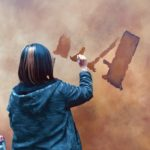 【外壁エイジング塗装・手描きロゴサイン・内装壁画☆MAZELA様】@東京都立川市
