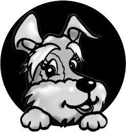 犬のロゴデザイン2