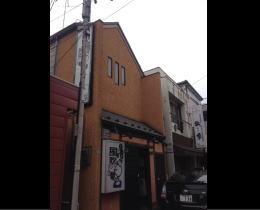 琉球ぼうず 小川店様 - 東京都小平市/居酒屋・飲食店 店舗壁画施工前写真1