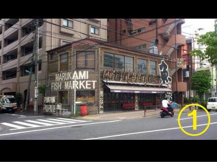 くわち家様 - 東京都福生市/居酒屋・飲食店 店舗壁画施工過程写真1
