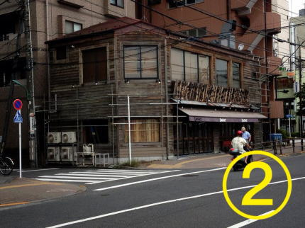 くわち家様 - 東京都福生市/居酒屋・飲食店 店舗壁画施工過程写真2