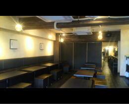 HANABI様 - 東京都/飲食店 店舗内装・壁画イラスト施工前写真3