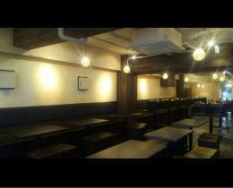 HANABI様 - 東京都/飲食店 店舗内装・壁画イラスト施工前写真5