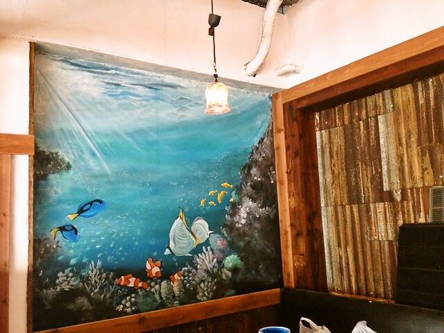 くわち家様 - 東京都福生市/飲食店・居酒屋 店舗内装・壁画イラスト施工後写真2