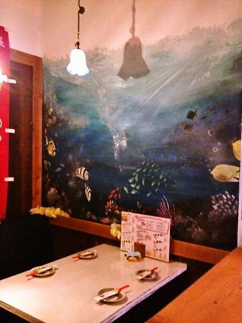 くわち家様 - 東京都福生市/飲食店・居酒屋 店舗内装・壁画イラスト施工後写真3