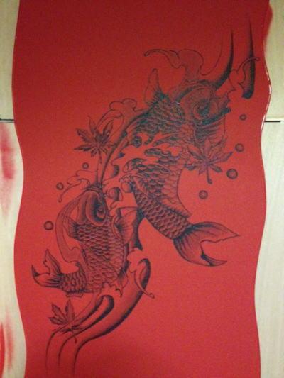 宴屋様 - 東京都日野市/居酒屋・飲食店 店舗内装・壁画イラスト施工後写真1