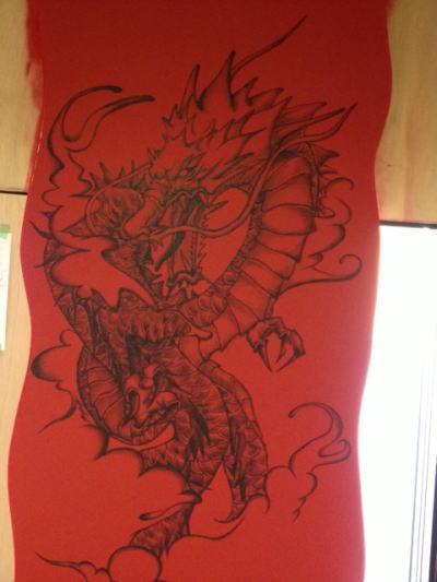 宴屋様 - 東京都日野市/居酒屋・飲食店 店舗内装・壁画イラスト施工後写真2