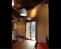 魁花様 - 埼玉県新座市/ラーメン屋・飲食店 店舗内装・壁画イラスト施工前写真1