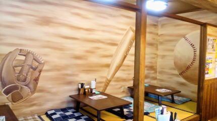 長嶋屋様 - 東京都武蔵村山市/うどん屋・飲食店 店舗内装・壁画イラスト施工後写真2