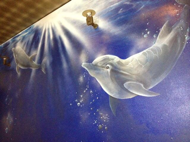 パブスナックH2O様 - 東京都東大和市/居酒屋・バー・スナック 店舗内装・壁画イラスト施工後写真5