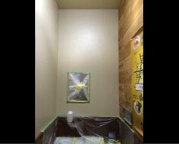 青樹様 - 東京都立川市/ラーメン屋・飲食店 店舗内装・壁画イラスト施工前写真1