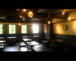 HANABI様 - 東京都/飲食店 店舗内装・壁画イラスト施工前写真1